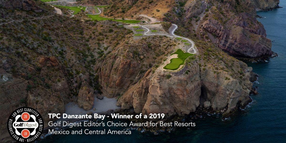 Golf Digest Editors Choice Award For Best Resorts Mexico Tpc Danzante Bay