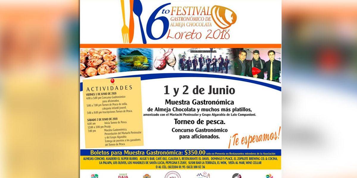 Sexto Festival De La Almeja Chocolata Loreto