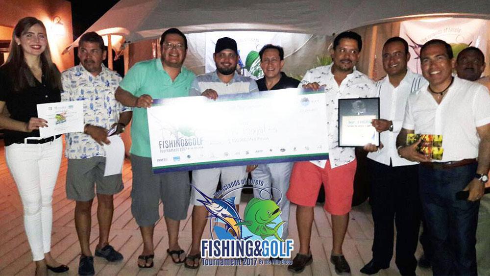 Campeones De Segunda Edicion Torneo De Pesca Danzante Bay