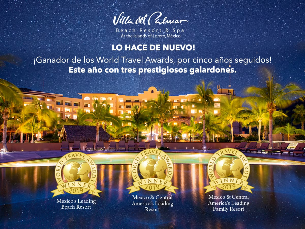 Villa Del Palmar Loreto World Travel Awards Ganador