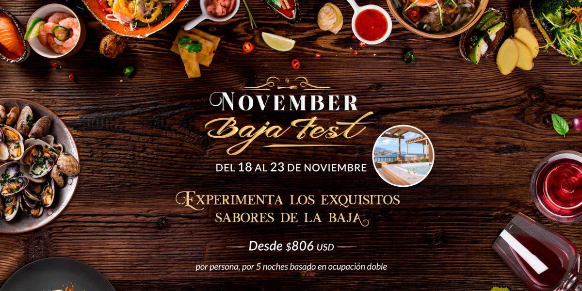 November Baja Fest En Villa Del Palmar Loreto Mexico