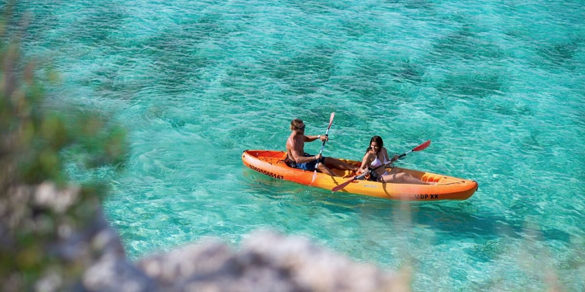 Kayak En Loreto Baja California Mexico