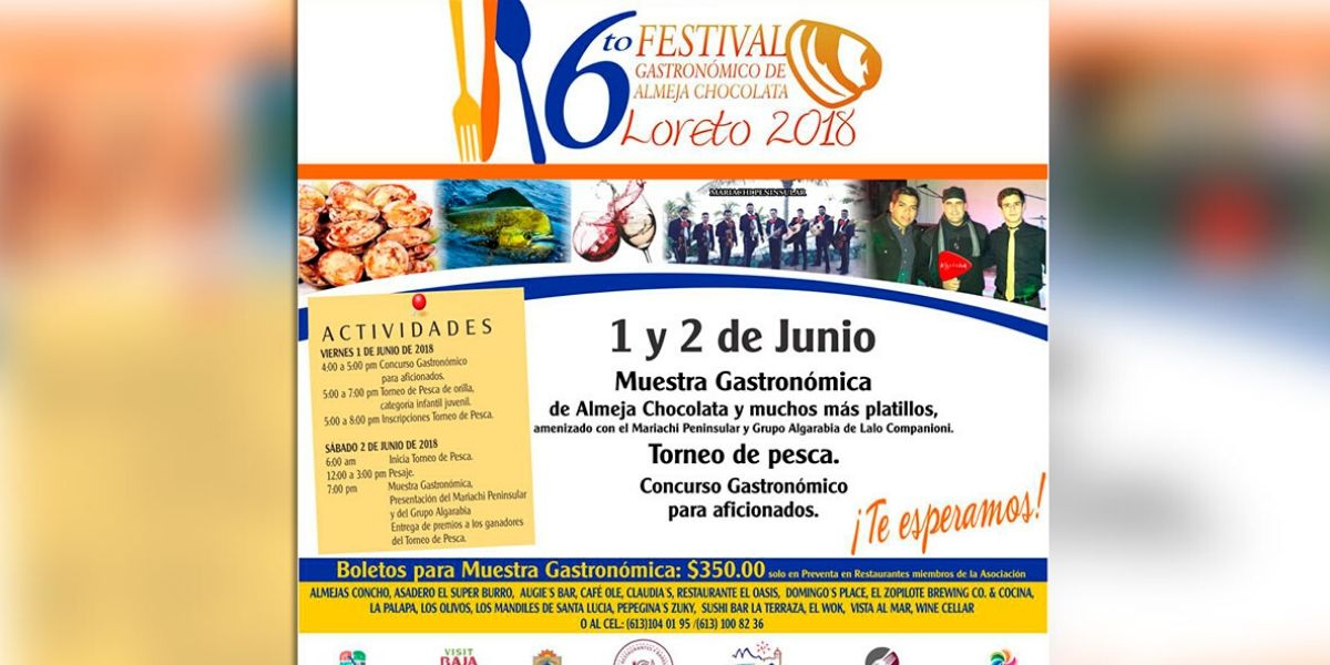 Th Annual Chocolata Clam Festival Loreto