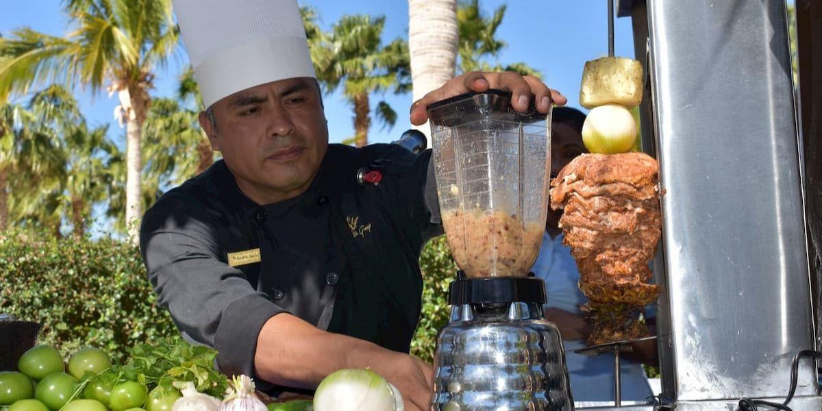 Chef Gerardo Garcia Restaurante Danzante Villa Del Palmar Loreto