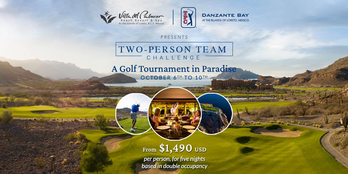 Two Person Team Golf Challenge Loreto Mexico