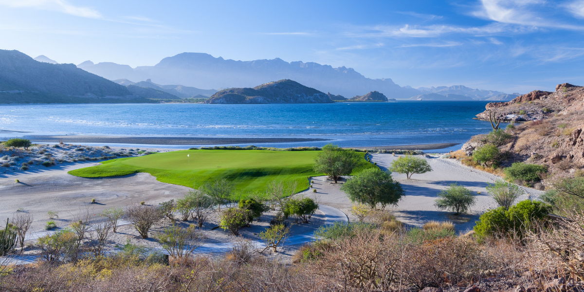 Tpc Danzante Bay Golf Course In Loreto Baja Mexico