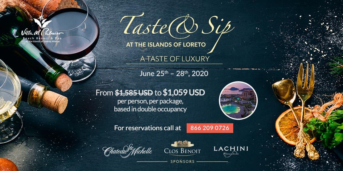 Taste And Sip Event Loreto Mexico