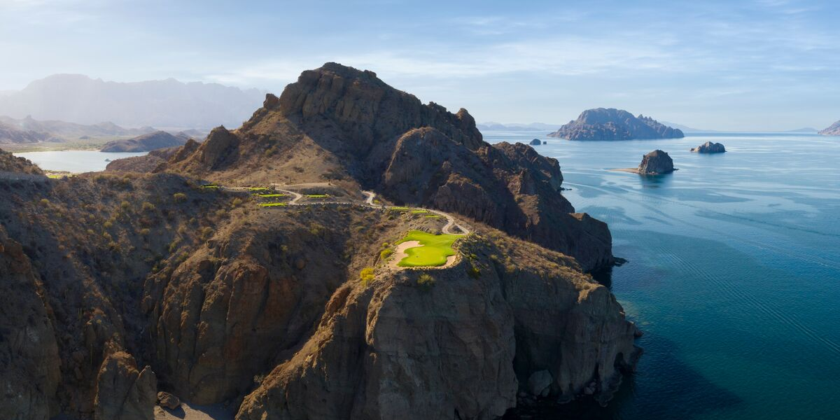 Tpc Danzante Bay Close To Los Cabos Golf Resorts