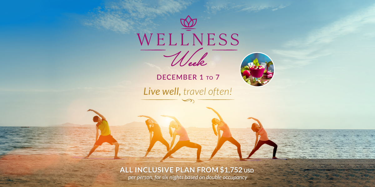 Villa Del Palmar Wellness Week