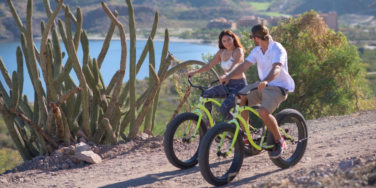 Biking Outdoor Activities In Loreto Mexico