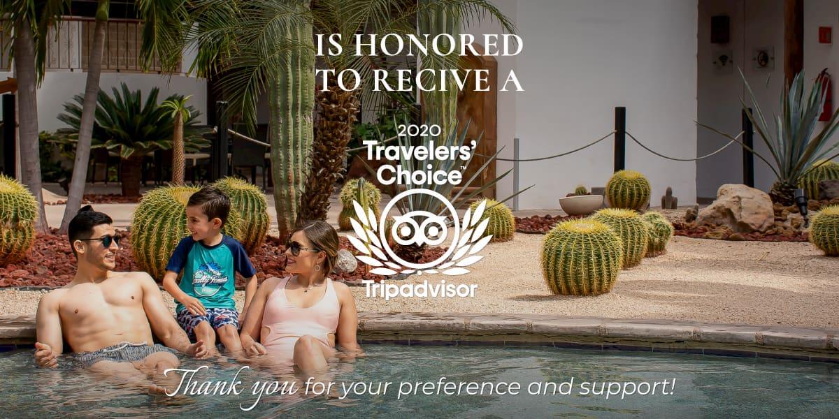 Hotel Santa Fe Loreto Wins Tripadvisor Travelers Choice Award