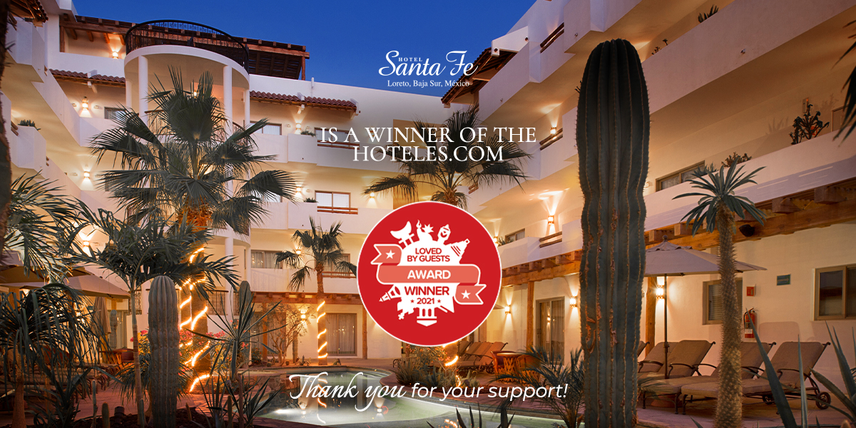 Hotel Santa Fe Loreto Winner Of Loved By Guests Award For