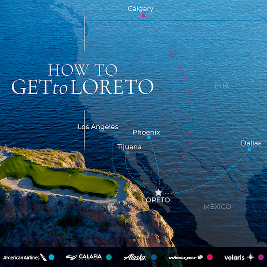 How to get to loreto eng