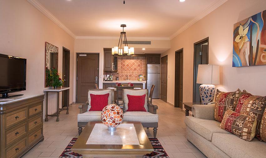 Penthouse Royal de Tres Recámaras Villa del Palmar Beach Resort & Spa en las Islas de Loreto