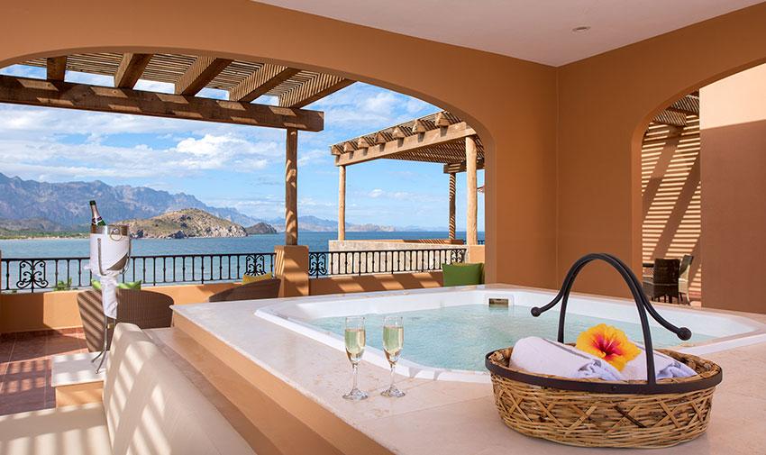 Penthouse Presidencial de Cuatro Recámaras Villa del Palmar Beach Resort & Spa en las Islas de Loreto