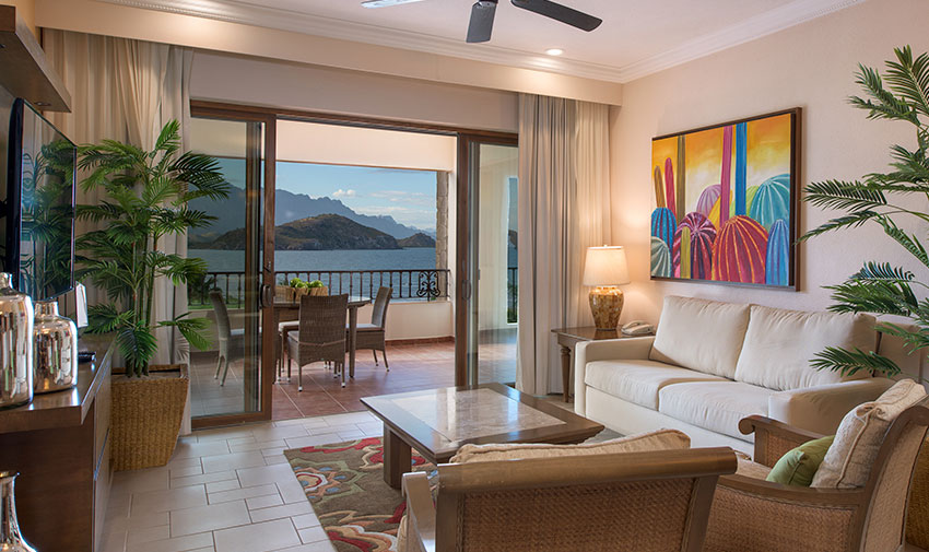 Presidential Four Bedroom Penthouse Villa del Palmar Beach Resort & Spa at the Islands of Loreto