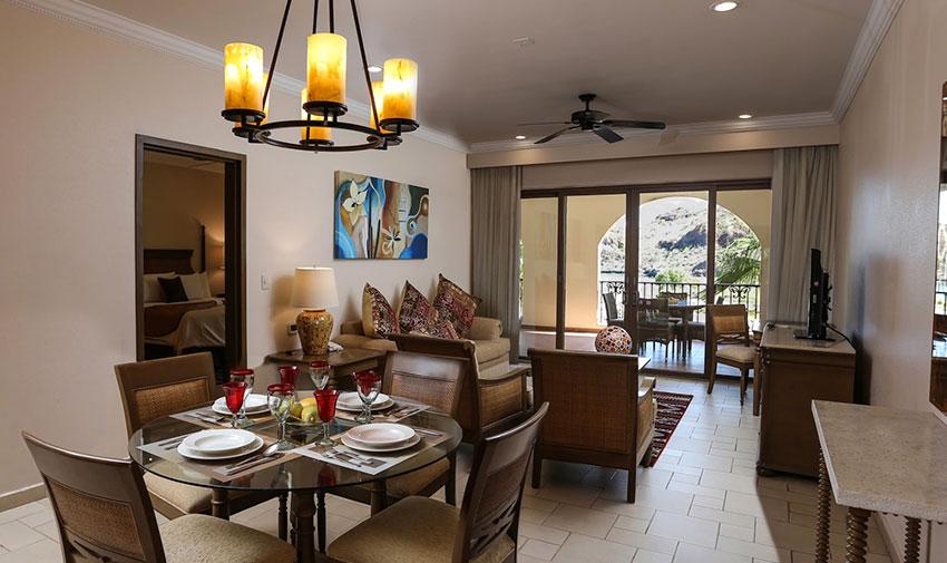 Suite de Una Recámara Vista al Mar Villa del Palmar Beach Resort & Spa en las Islas de Loreto