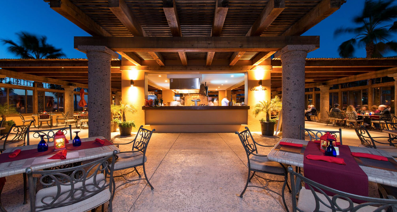 Villa Del Palmar Loreto Restaurant