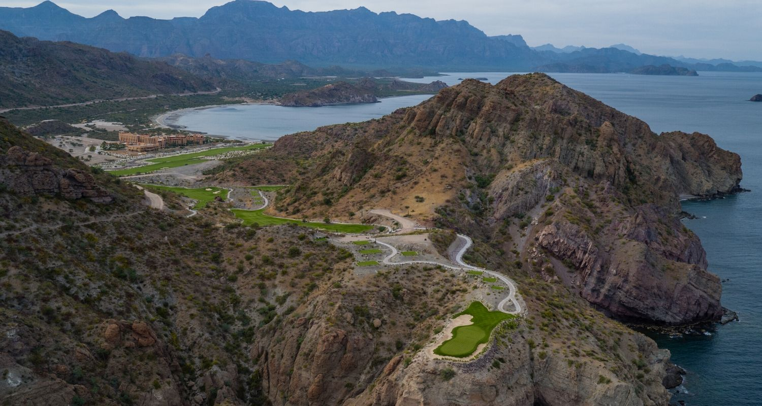 Loreto Mexico Golf Course Tpc Danzante Bay