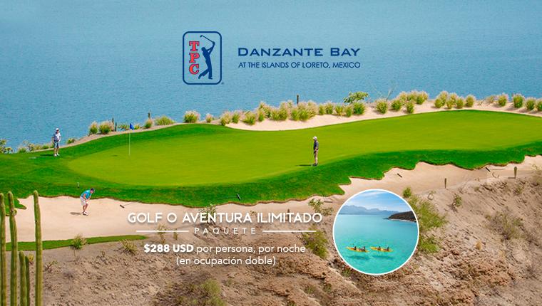 Paquete de Golf o Aventura Ilimitado