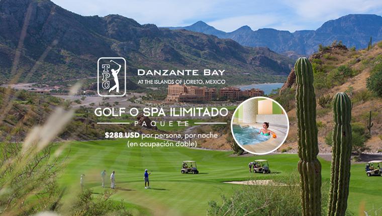 Paquete de Golf o Spa Ilimitado