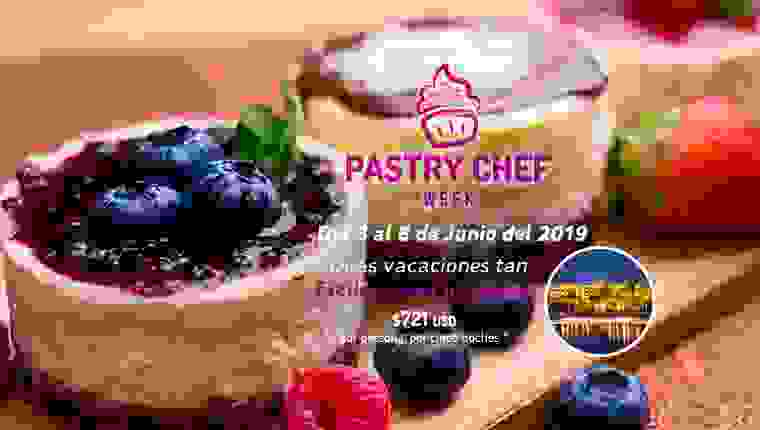 Pastry Chef Week - JUNIO