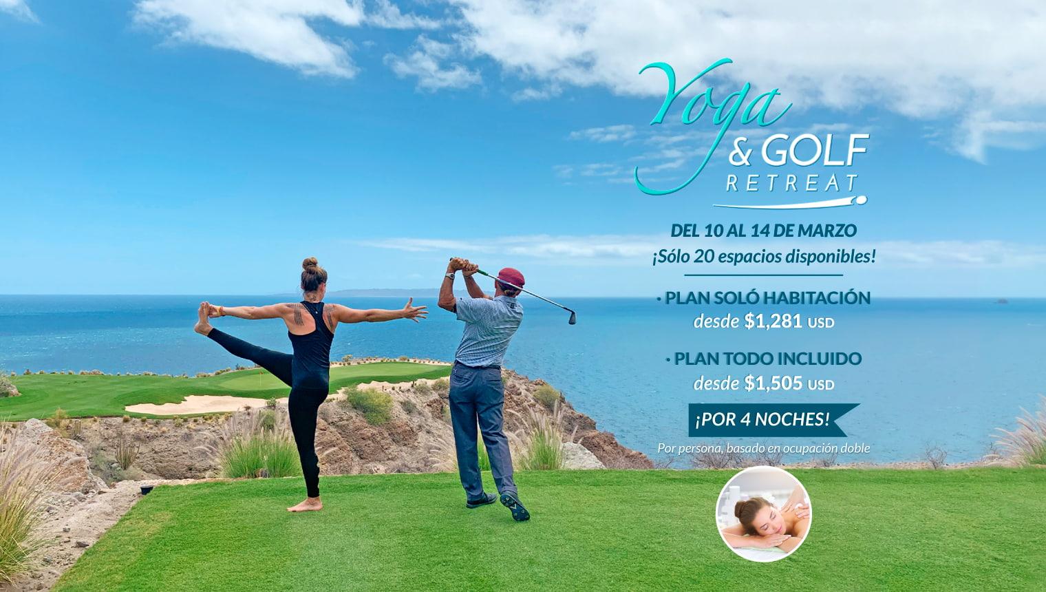 Yoga & Golf Retreat