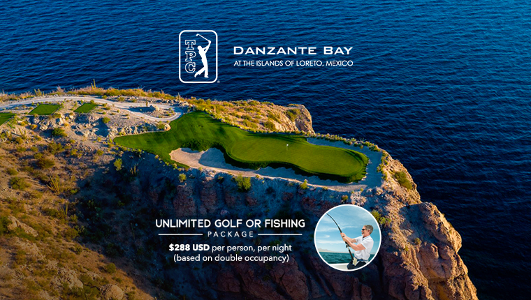 Unlimited Golf or Fishing Package