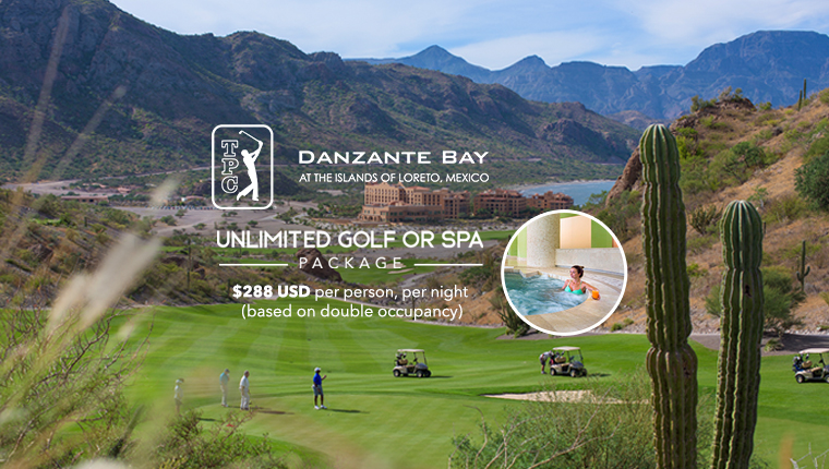 Unlimited Golf or Spa Package