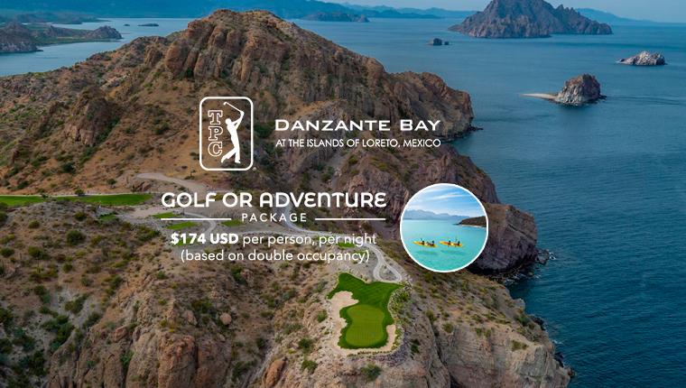 Golf or Adventure Package