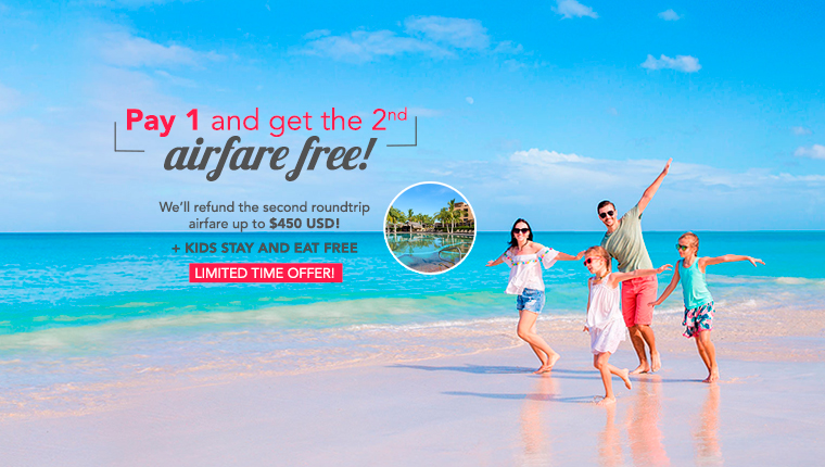 Pay 1 And Get The 2nd Airfare Free