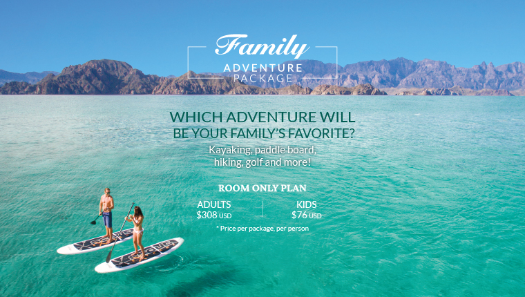 Family Adventure Package 2019