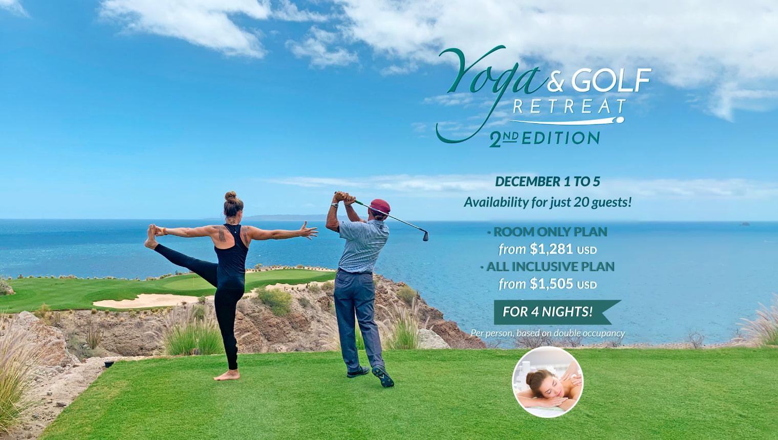 Yoga & Golf Retreat - Second Edition