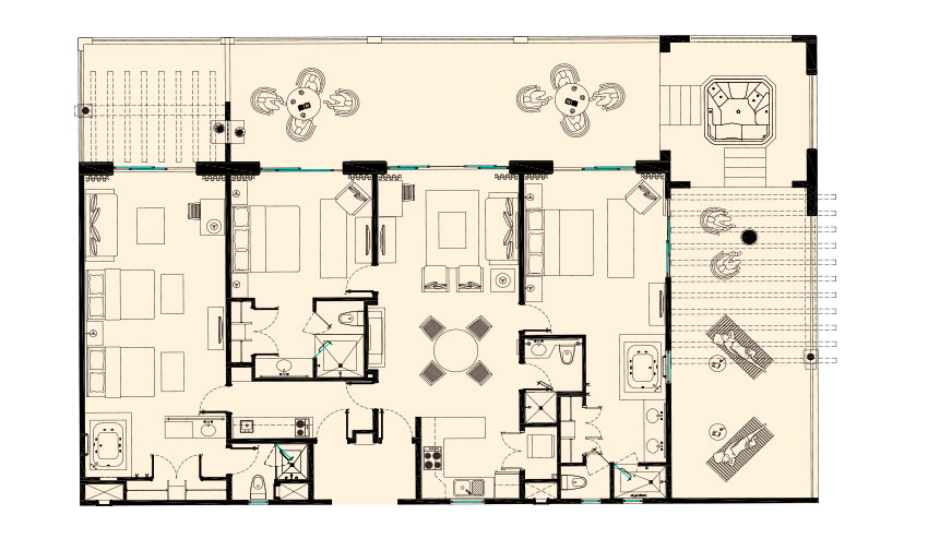Royal Three Bedroom Penthouse