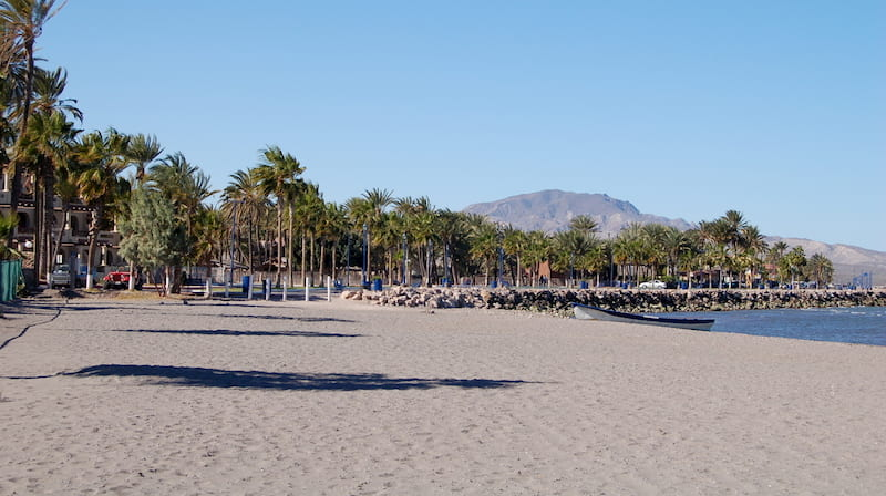Loreto Location Beach